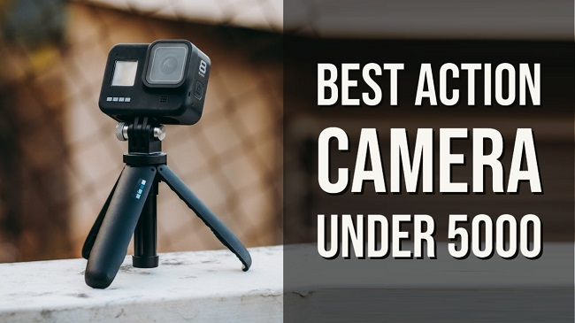 Best action camera under 5000 in India